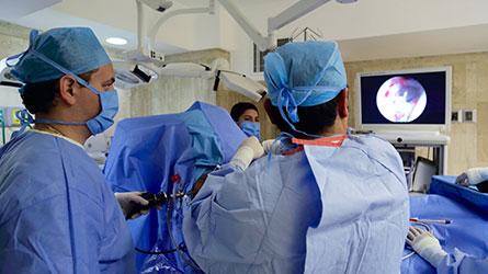 Artroscopía de hombro