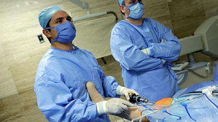 Artroscopía de rodilla